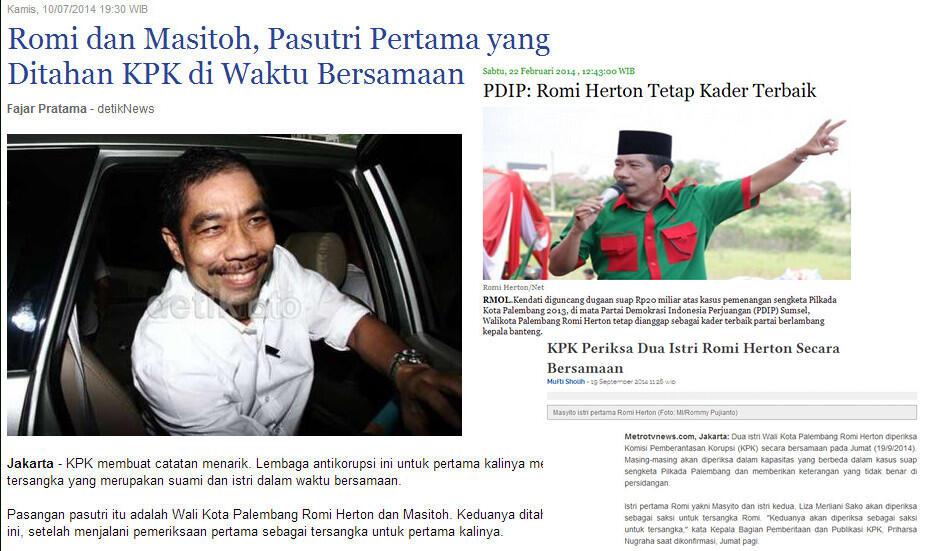 [Gak mo kalah ama SBY] Walkot Palembang Ciptakan Lagu breng Andi Malarangeng di Rutan