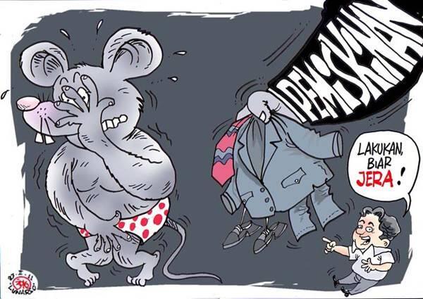 Penanganan Korupsi di Kabupten Bogor Lamban