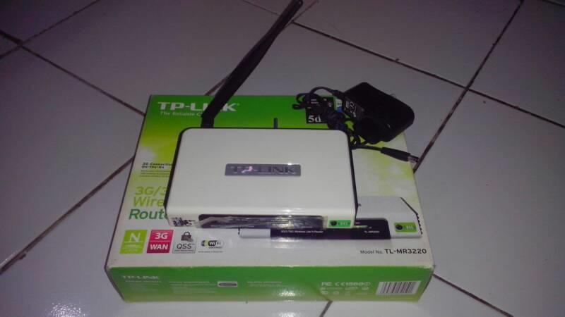 TP-LINK TL-MR3220 3G Wireless N Router (Bandung)