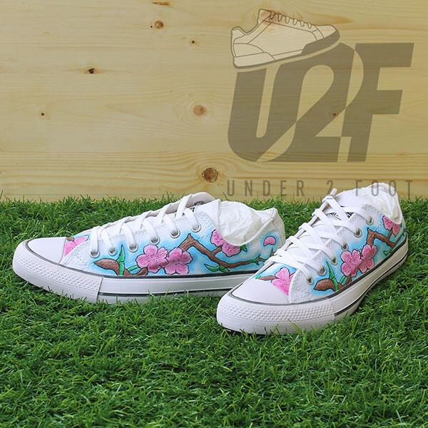 Sepatu Custom, Sepatu Lukis, Repaint & Custom Order