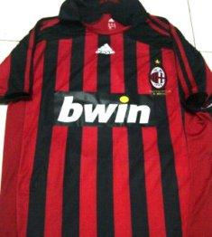Ready Stock jersey Ac Milan Retro 2007 [ grade aaa thailand ] stock ngga banyak gan