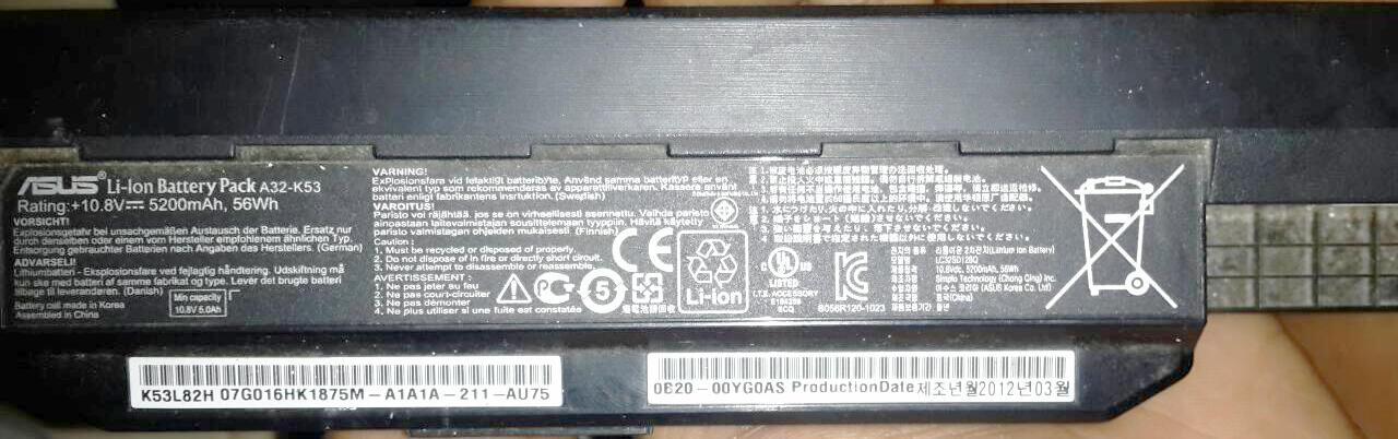 ASUS A43S Core i3 VGA Nvidia 630M RAM 2GB