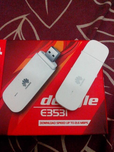 """Modem GSM 3.5G """"Huawei"""" E353 dan E3531"""