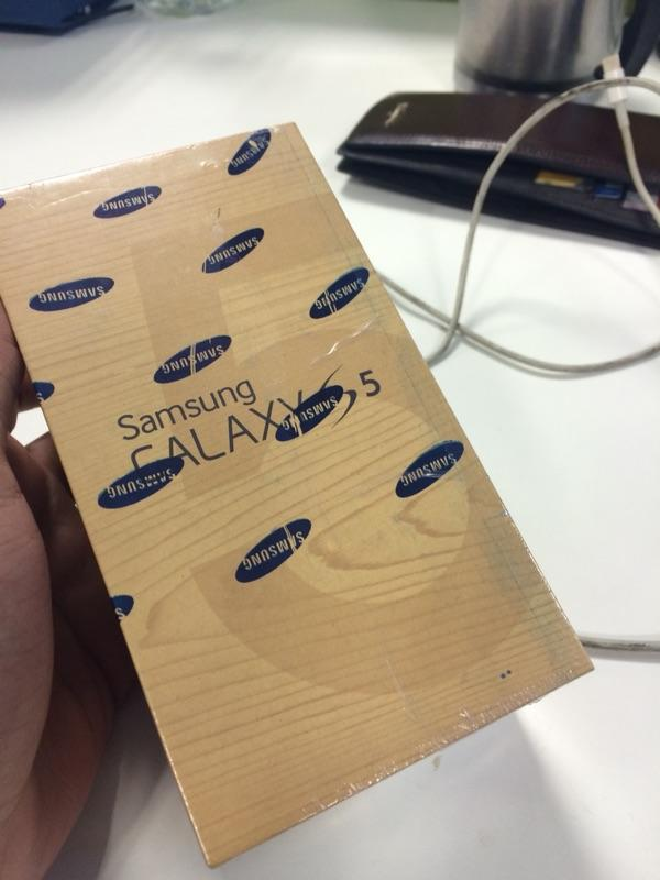 Samsung galaxy s5 putih baru dan harga miring