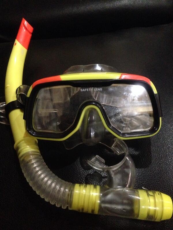 Snorkel mask! Alat snorkeling murah.jakarta
