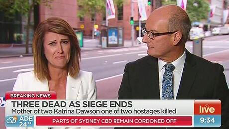 Suasana Kota Sydney Australia sedang tegang (PIC)