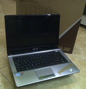 Jual Laptop Bekas ASUS A43SA-VX090D Core i3 Hard Gaming VGA 2Gb Malang