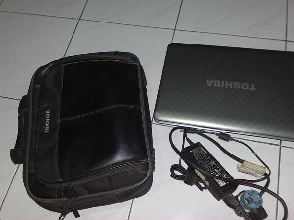 GAMING TOSHIBA L745 CORE i3 KOMPLIT SEGEL UTUH VGA NVIDIA 1GB (SOLO)