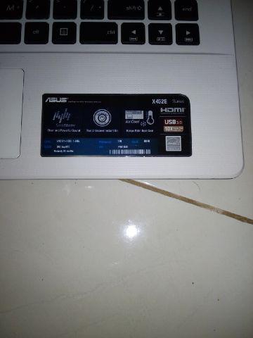 Notebook Asus X452E komplit, mulus, pembelian 3 minggu yang lalu, COD Solo Sragen
