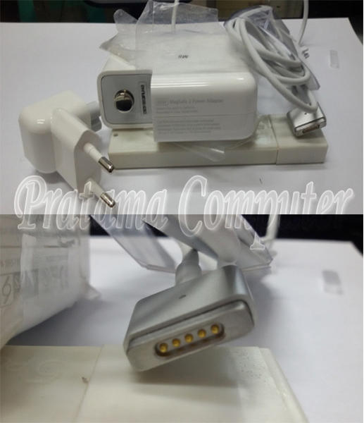 Pusat Magsafe 1&2/Adaptor/Charger Apple Macbook Pro/Air/White-45W/60W/85W Original