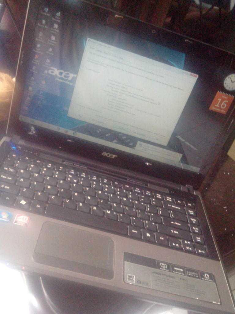 Laptop Acer Aspire 4745g Core I5 gamers