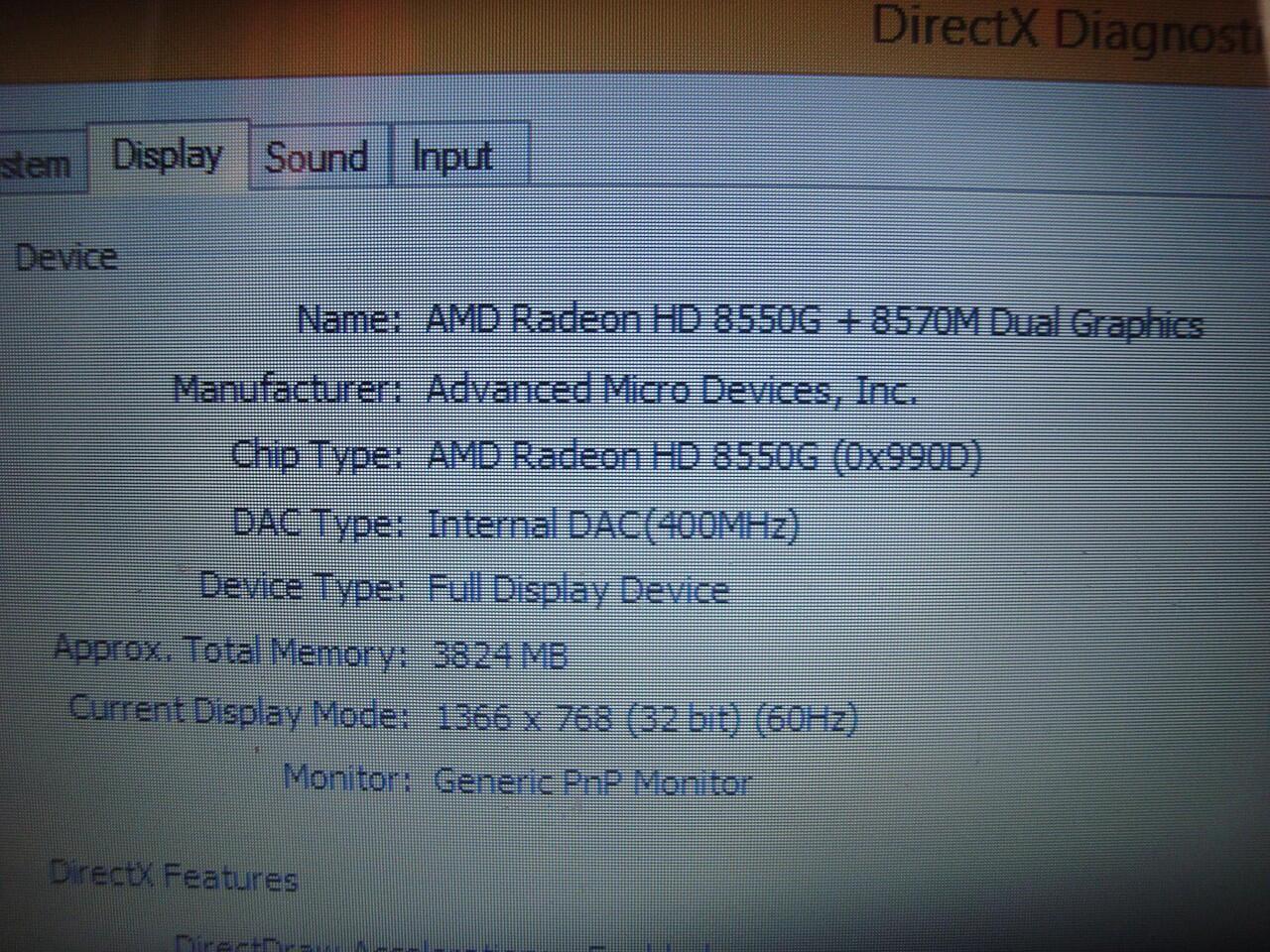 Laptop Lenovo G405s