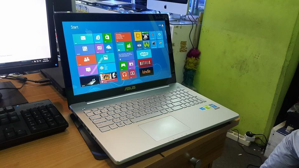asus n550JV core i7 4700|ddr3 8gb|vga gt 750M 2Gb|Touchscreen|15inc MURAHHHHH