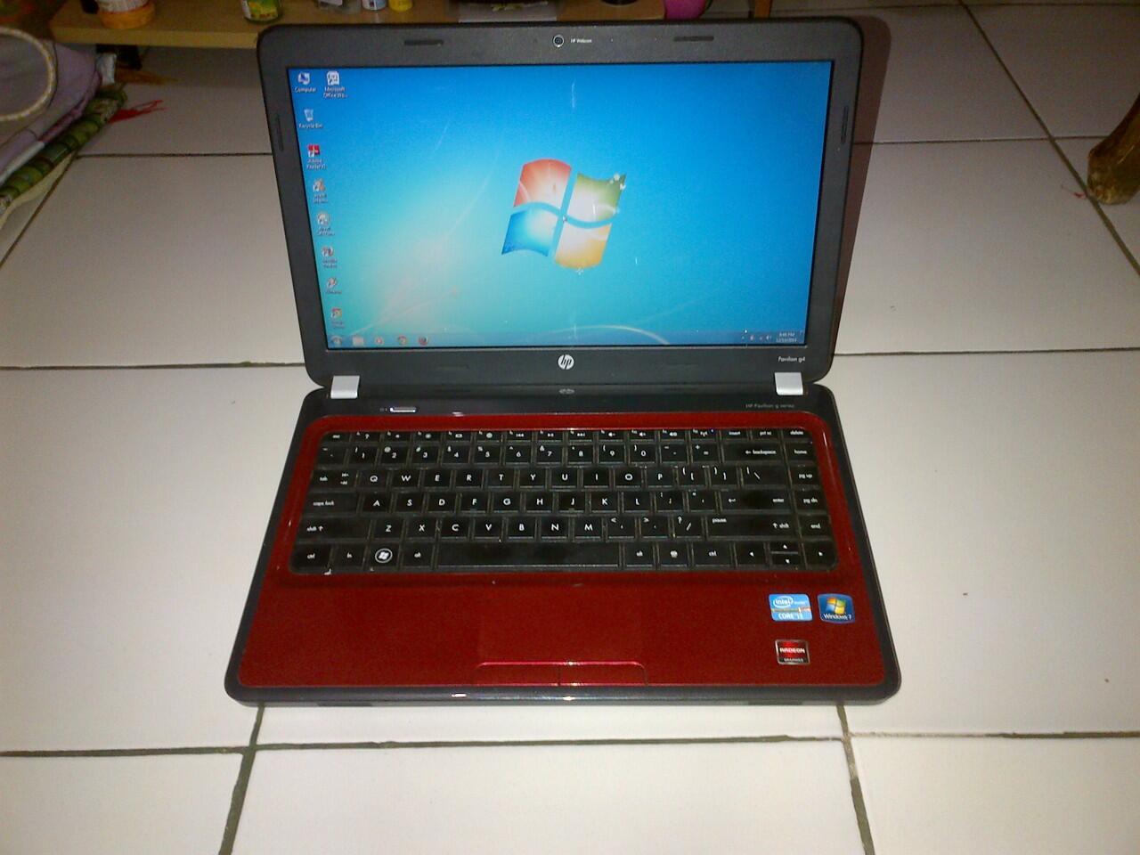Jual Laptop HP Pavilion Core i 3, Ram 4 gb, Hdd 500gb, Murah Aja