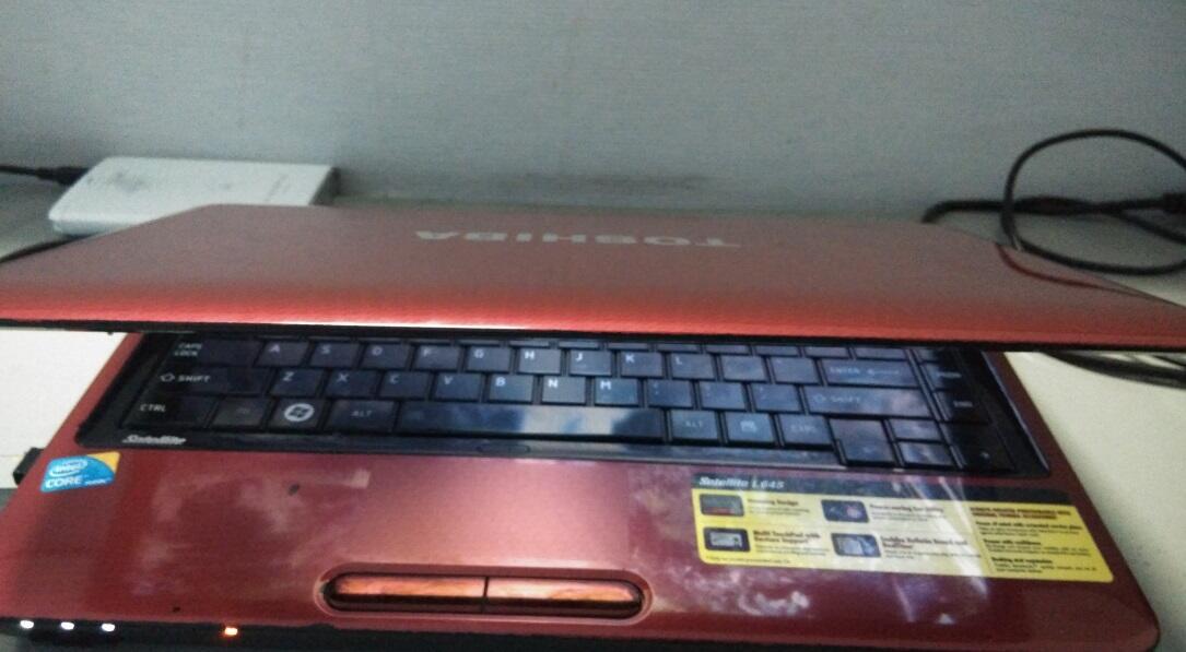 WTS : Notebook Toshiba L645 i5 60 GB SSD