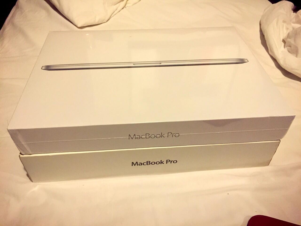 "Macbook Pro Retina 15"" 2014 custom spek tertinggi di dunia Core i7 2.8GHz SSD 1Tb"