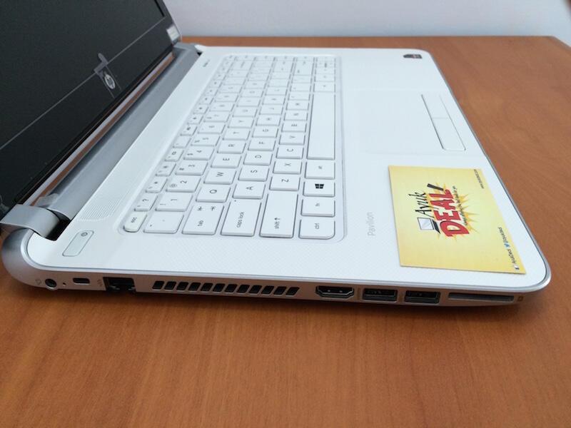 HP Pavilion 14-N012AX. AMD A10. Dual VGA. Win 8 @AyukDeal.com