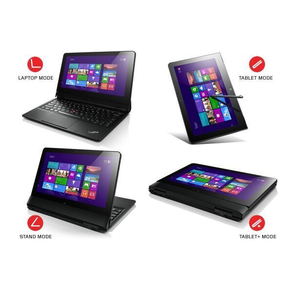 "Laptop ""Lenovo Thinkpad Helix-2SA Black"