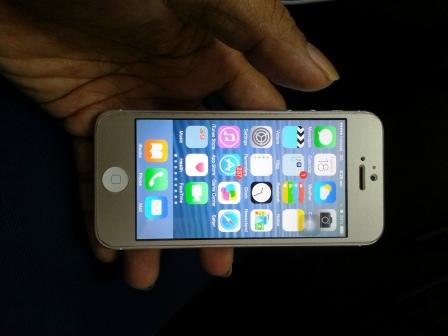 IPHONE 5 64GB FU GREY MURAH