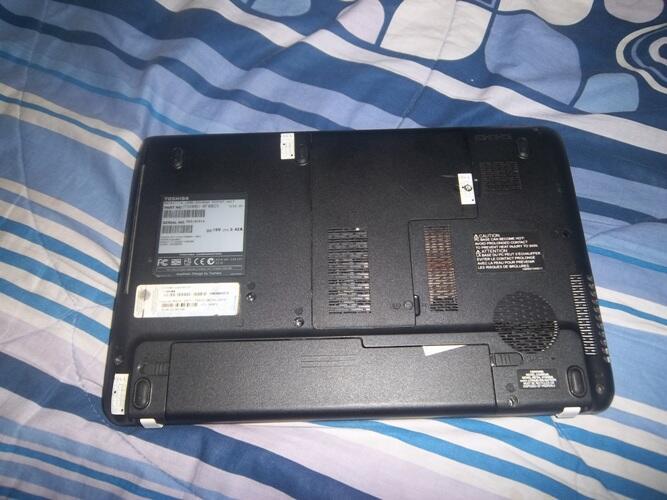 Toshiba L635 core i5 hdd 500gb ram 4gb led 13 inch