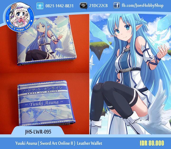 JHS-LWR-095 YUUKI ASUNA SWORD ART ONLINE II LEATHER WALLET
