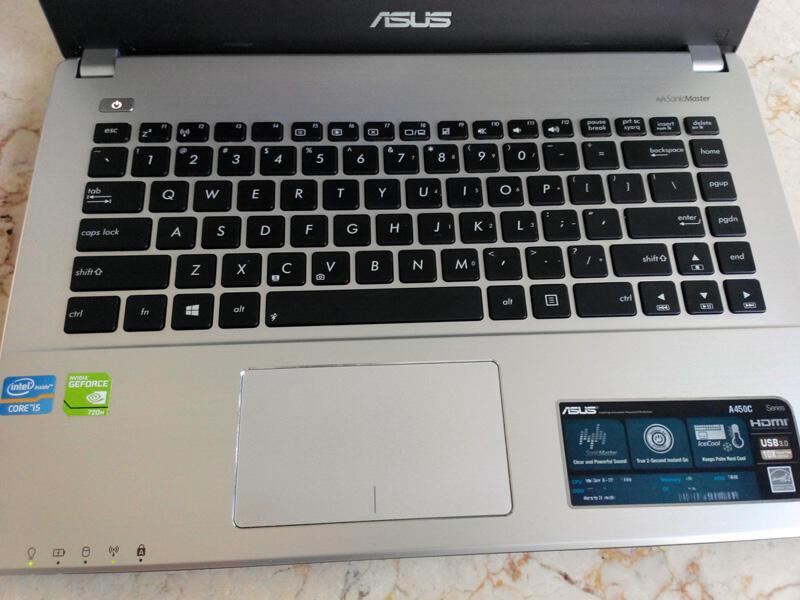 ASUS A450C |i5|nVidia 720|HDD 750GB|RAM 4GB|MANTAB!