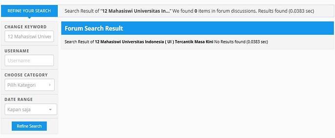 12 Mahasiswi Universitas Indonesia (UI) Tercantik Masa Kini