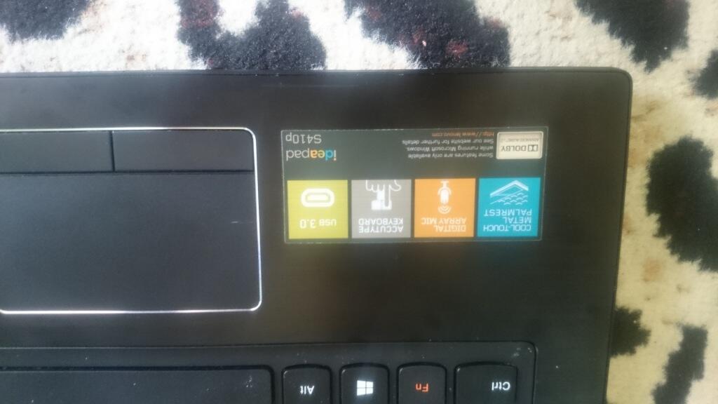 Laptop Lenovo Z series S410P Black