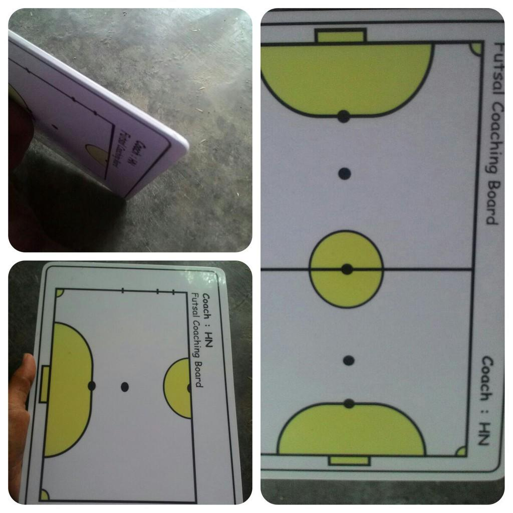 PAPAN STRATEGI/COACHING BOARD|Basket Futsal Sepakbola DLL| Design sendiri Murah