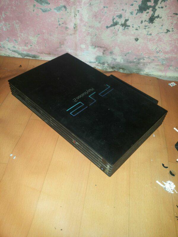 PS 2 Fat seri 3 hdd 80 NA 2 sirip
