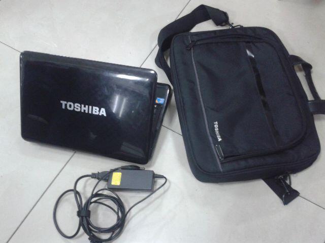 LAPTOP TOSHIBA SATELLITE L740-CORE i3-BOGOR