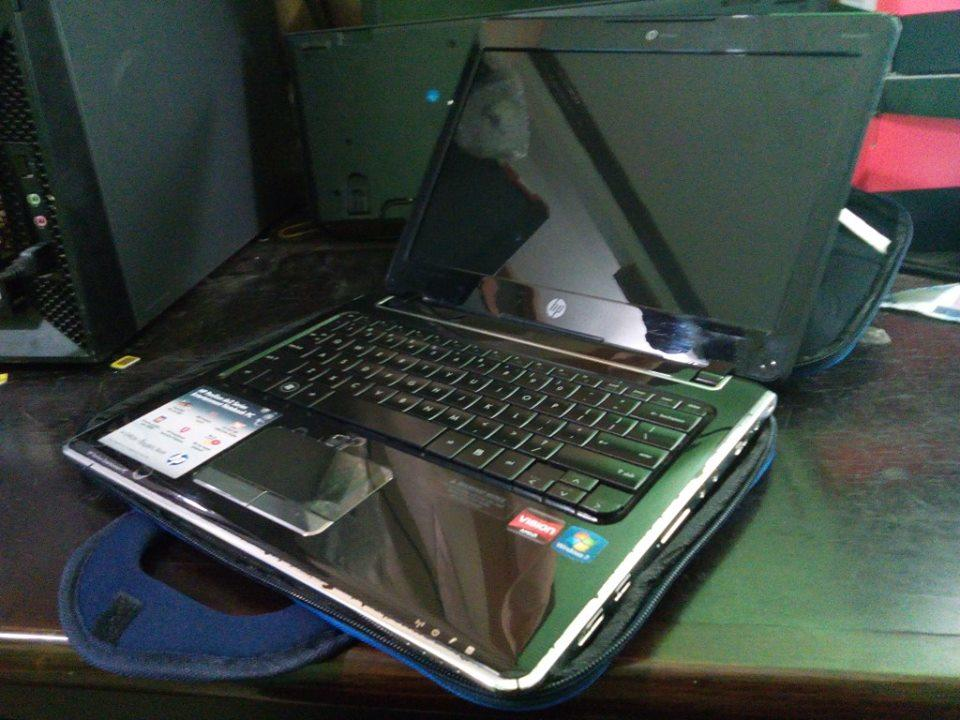 Jual Murah Laptop Netbook 12inch U Desain HP Pavilion DV2 AMD Windows 7 Ori HDD 500GB