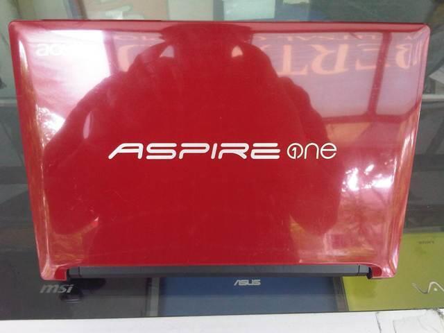 Netbook Acer AO D255 N550 ram 1 hdd 320 segel, mulus gan