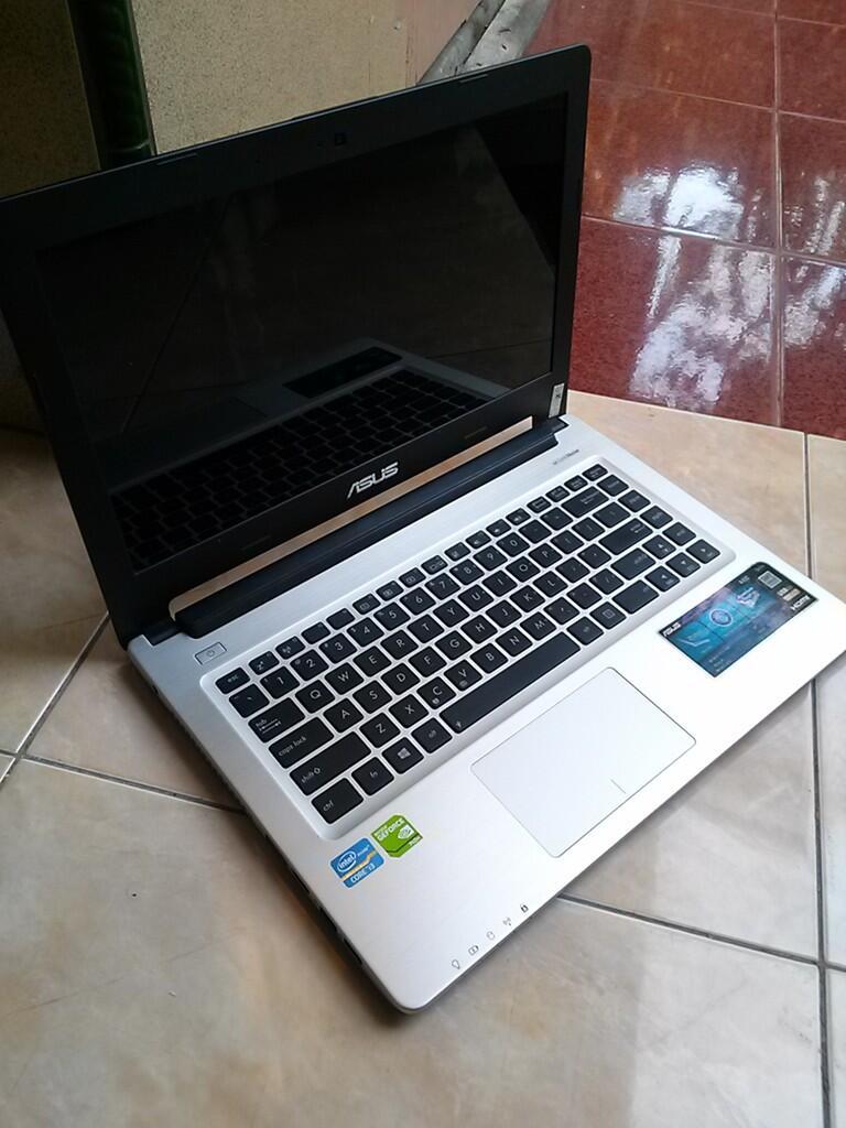 ASUS A46CB CORE i3-3217U VGA NVIDIA 740M 2GB RAM 4GB HDD 500GB MULUS MASIH GARANSI