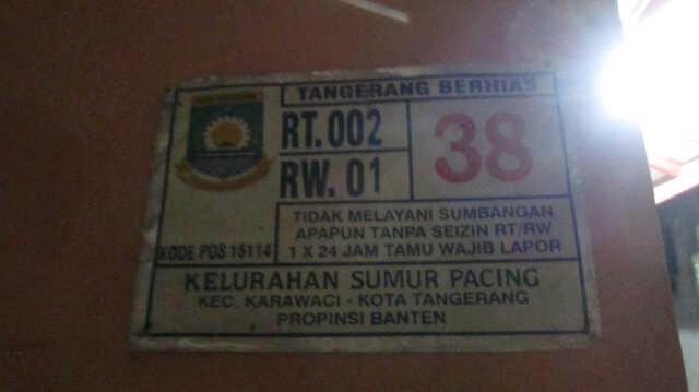 Jual Rumah Daerah Tangerang Kota (Sederhana dan nyaman gan)