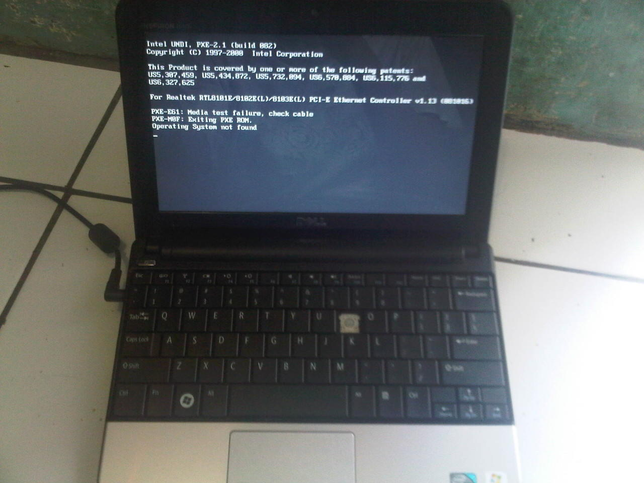 netbook minus asus x101h ,dell inspiron mini, acer aod255
