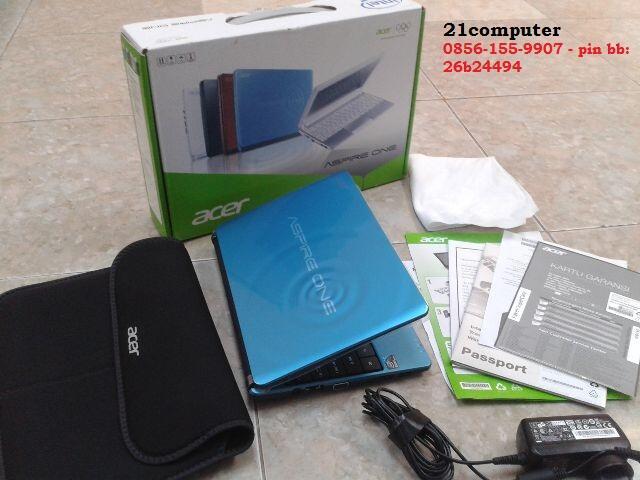 Notebook Acer One D270/Blue Fulset-Mulus-Masih Segel-Cod Bogor