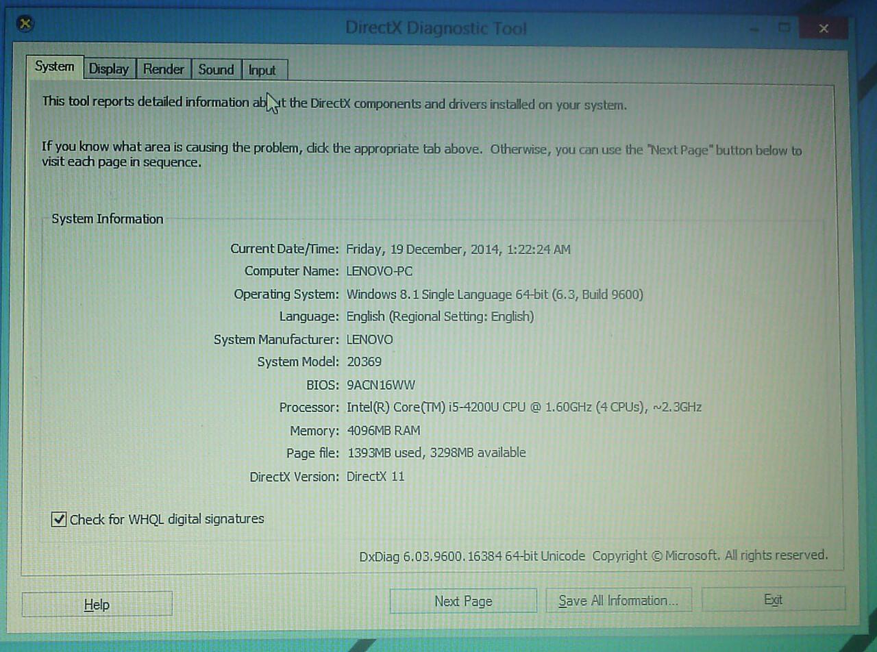 BU Lenovo G40-70 i5-4200U Haswell