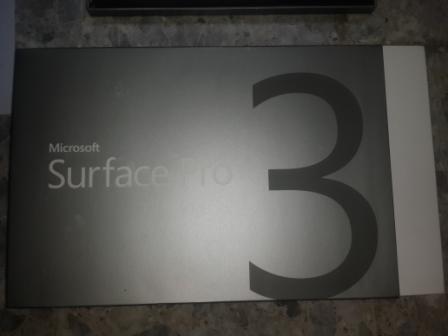 Microsoft Surface Pro 3 + Keyboard (Black)