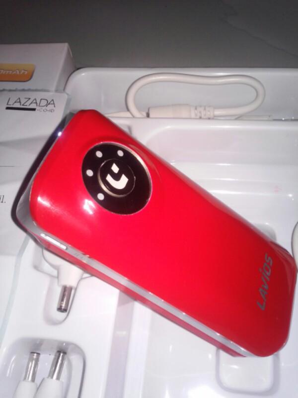 PB LAVIOS 512C 5200 mAh RED