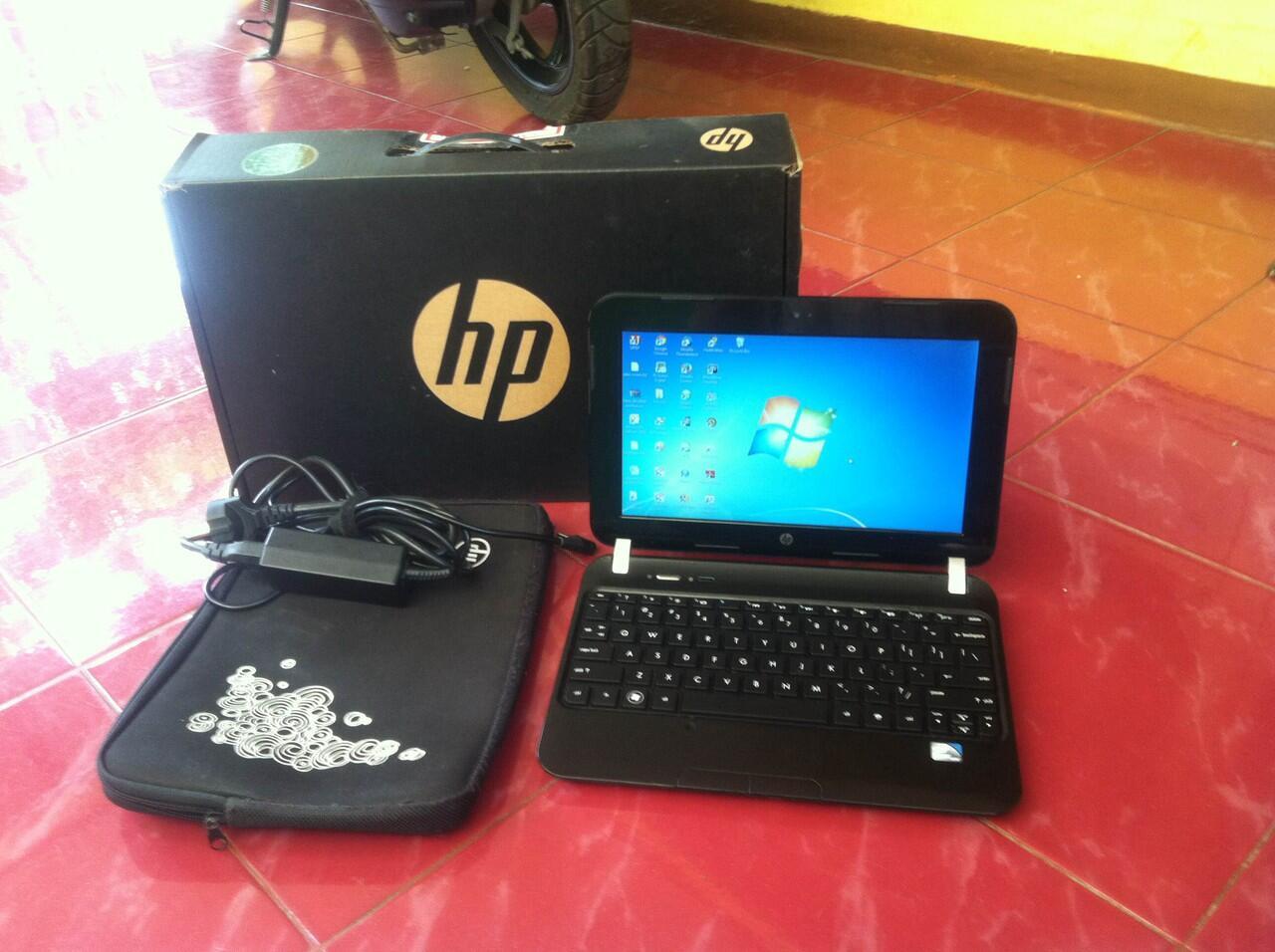 HP Mini 200-4223TU Ram 2 GB HDD 320 Like New Mulus Lengkap harga nego