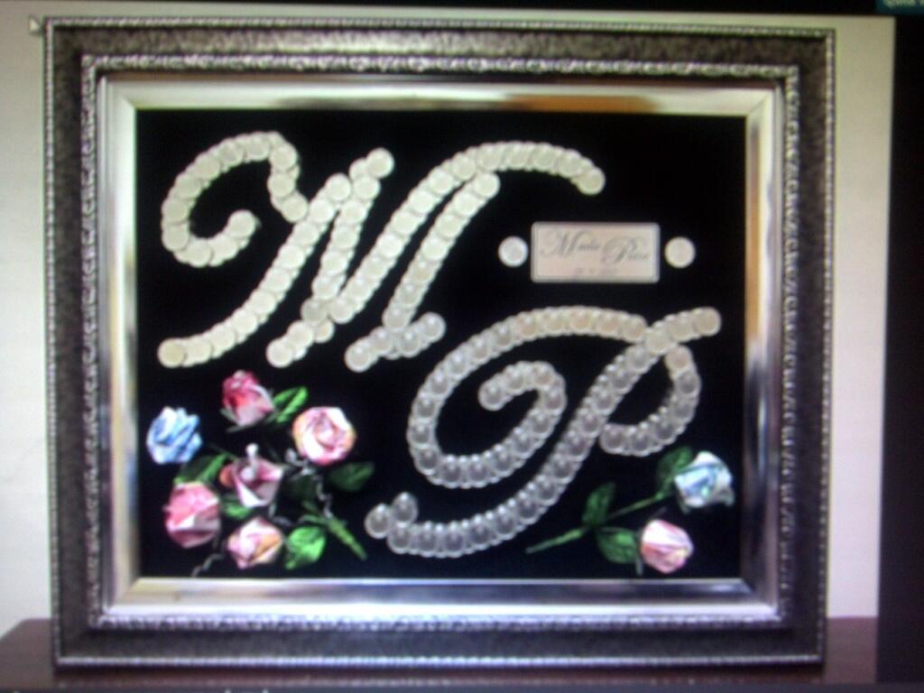 Desain Gift/Mahar Pernikahan dari Uang Koin dan Kertas