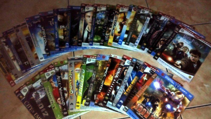 WTS DVD Film Bekas Koleksi Pribadi
