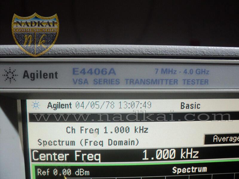 Spectrum Analyzer Agilent E4406A Vsa Series