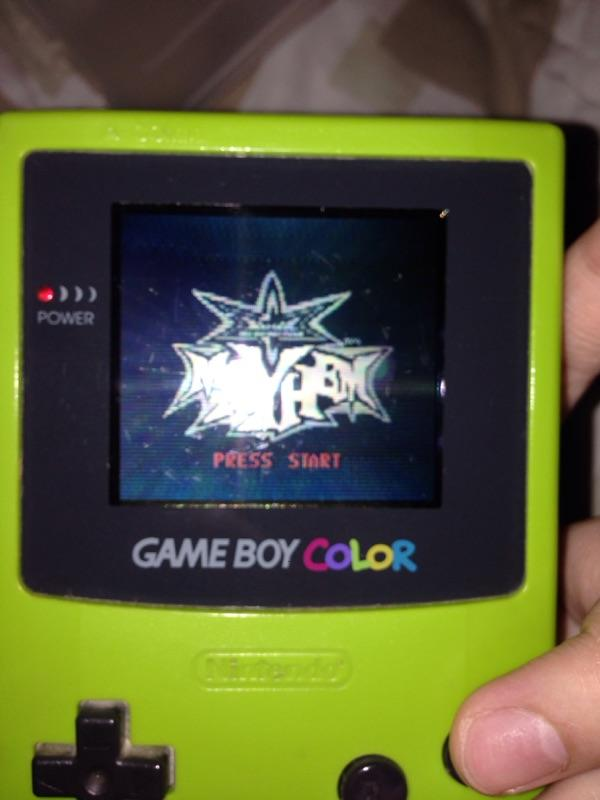 Wts gameboy color ijo + kaset masih bagus, terpercaya gan!!