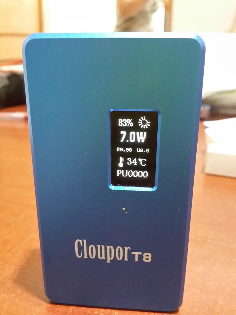 Vaporizer MOD T8 Cloupor