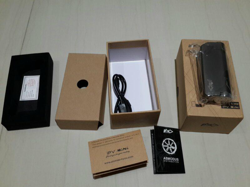 BNOB vaporizer mod ipv mini 30 watt bandung