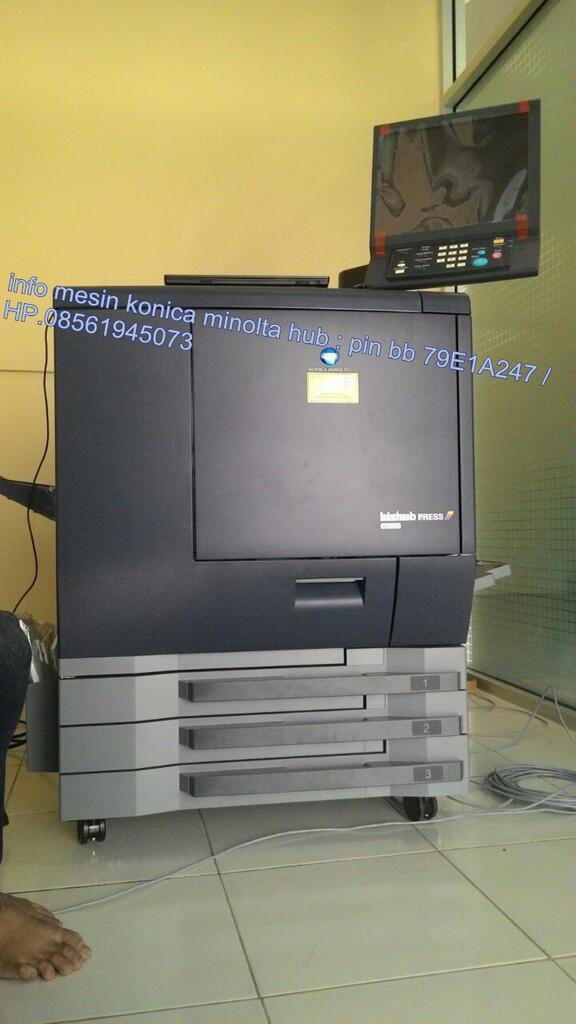 Distributor konica minolta di Indonesia, bizhub press C1100/C1085, C1060/C1070,C6000