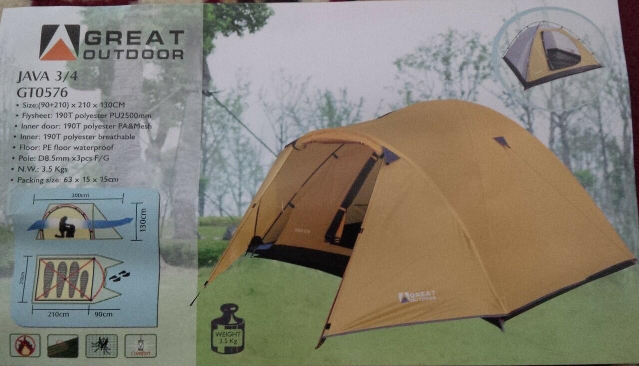 Tenda Great Outdoor Java Pro 4 Daftar Harga Terkini Dan Terlengkap Monodome 2 Tent Javasharplightmonodome