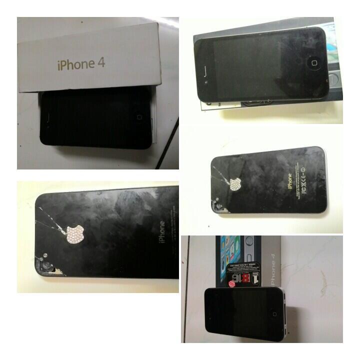 iphone 4 cdma 16gb black murah